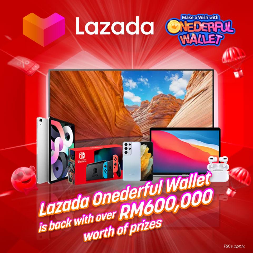 Lazada Onederful Wallet