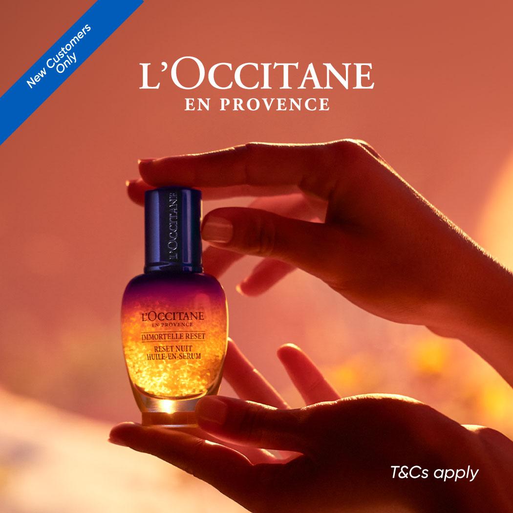 L'Occitane New Customer RM15 off