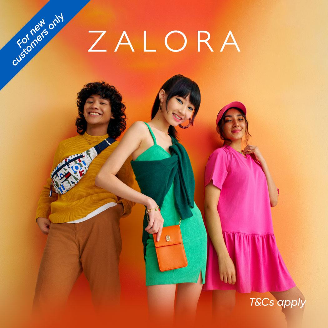 New Customer: Get 28% Off + 10% ZALORA Cashback