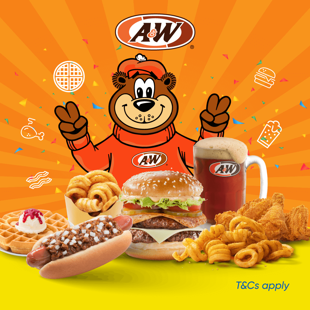 A&W Unlimited RM2 Cashback