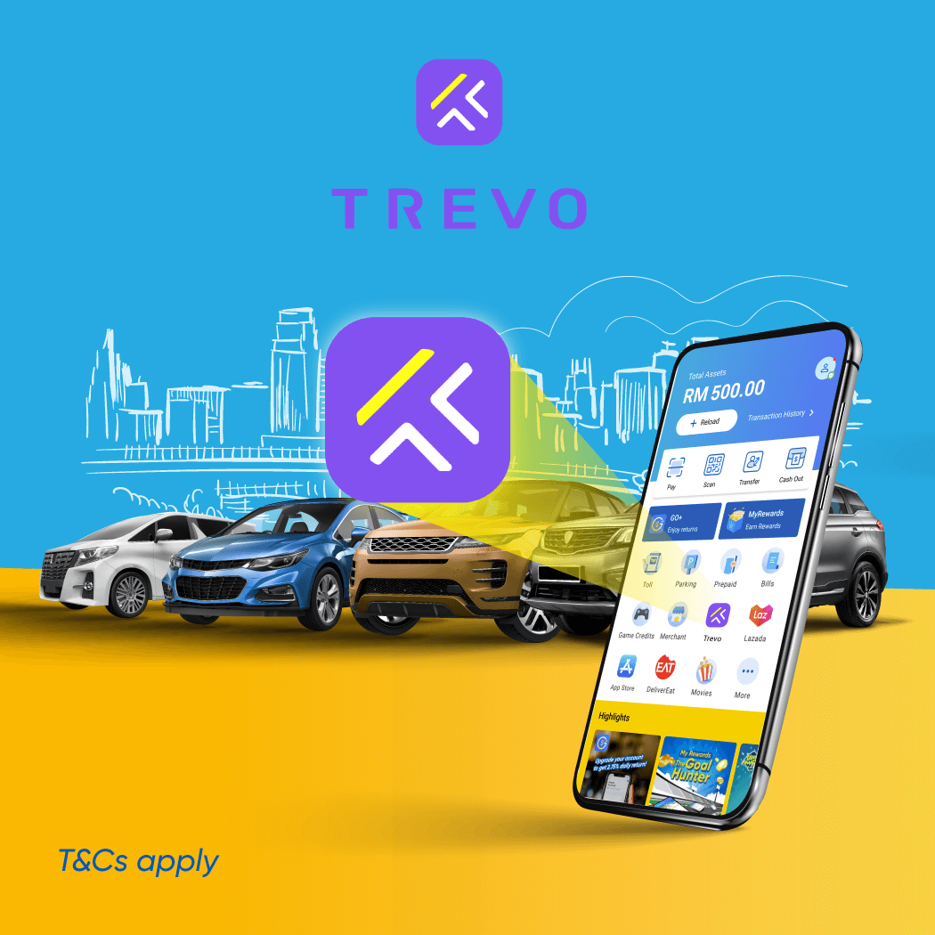 TREVO: Enjoy 30% Off + 10% Cashback