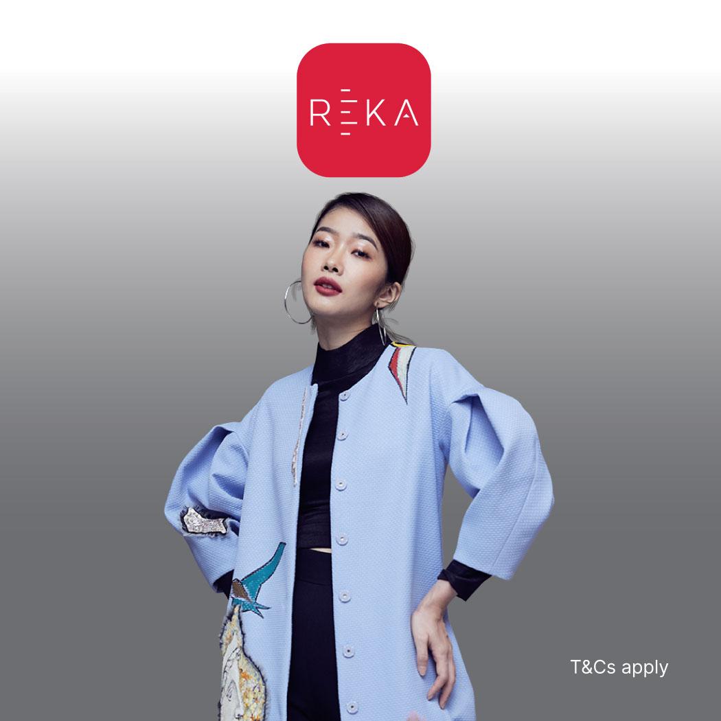 REKA 5% Cashback Promotion