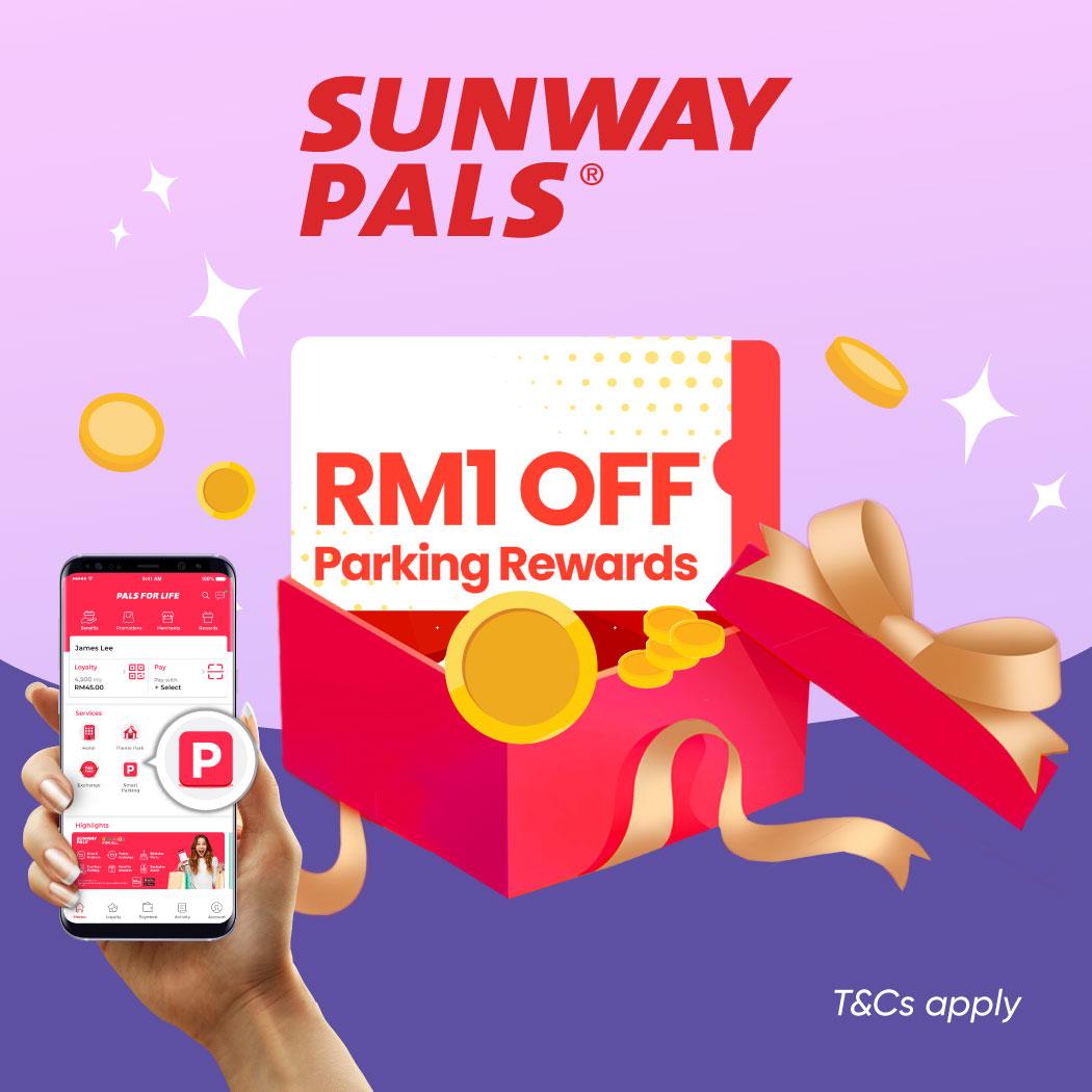 Park and Pay @ Sunway Pyramid Campaign via Pals App