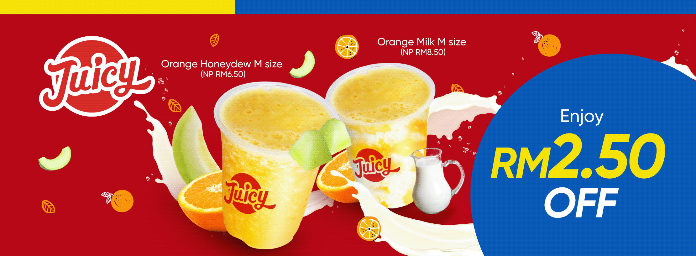 Juicy Fresh Juice Bar October Promotion