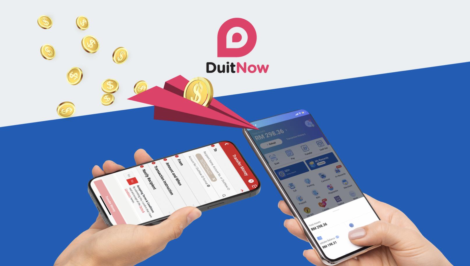 Seamless funds transfer via DuitNow Transfer