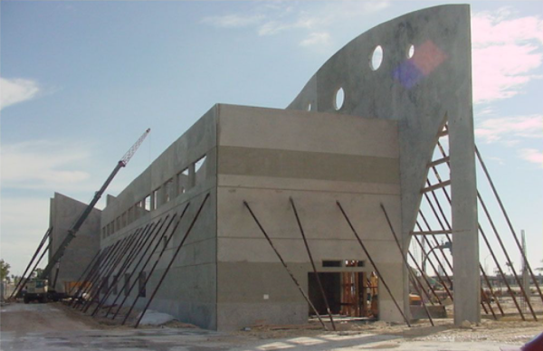 Miami Children Museum photo during the construction process