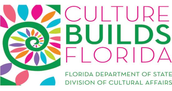 Culture Builds Florida Logo