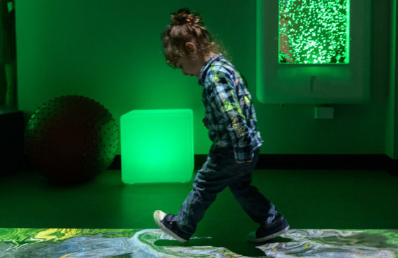 MAR 28: Miami Children's Museum reopens Newly Renovated Permanent Exhibit South Florida and Me Featuring the Snoezelen Room