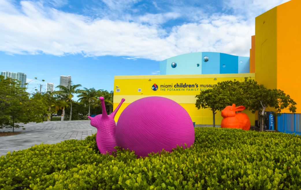 Miami Children Museum Building from outside