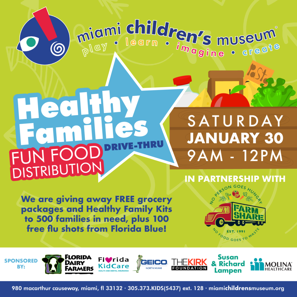 Health Family Food Distribution flyer