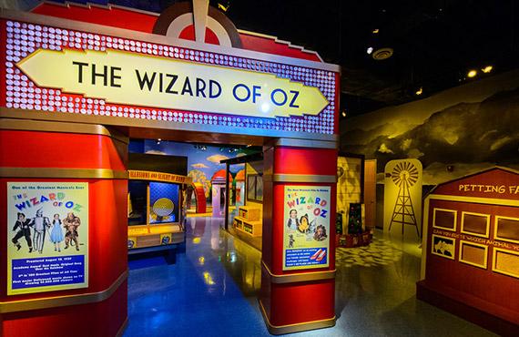The Wizard of OZ exhibit