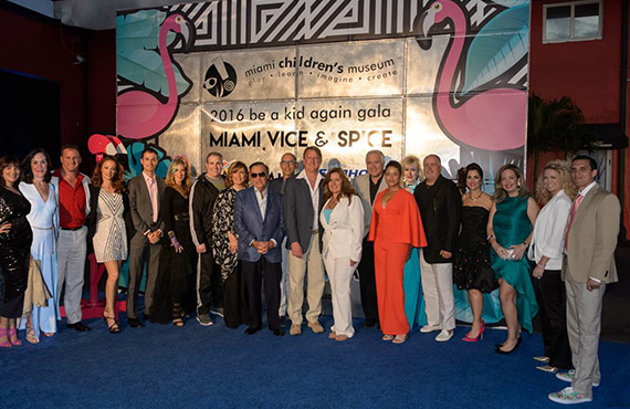 JAN 04 – Be A Kid Again Gala 2016: Miami Vice and Spice