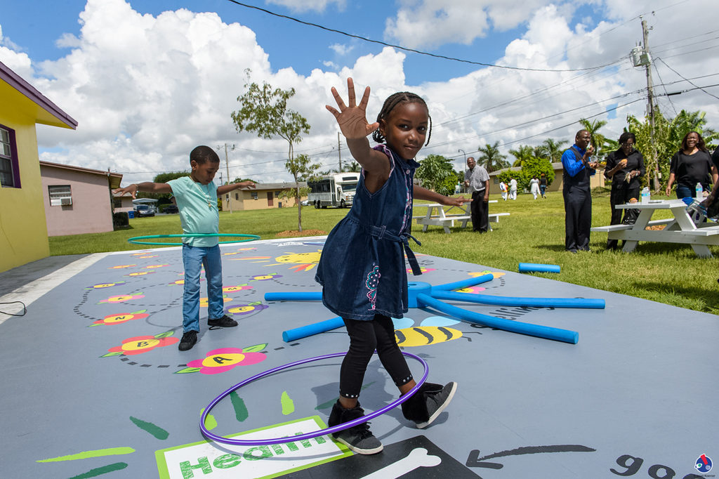 AUG 19: Miami Children's Museum with the Support of KaBoom! and Target Corporation Open Exciting New Play Space