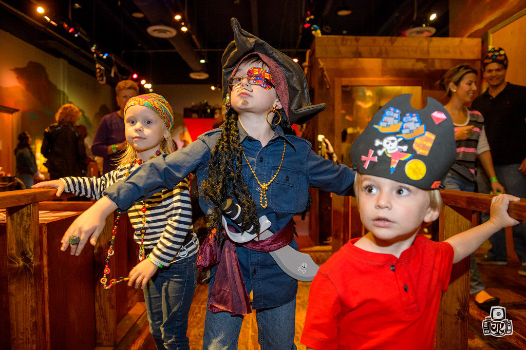 OCT 16: Get Ready to Set Sail For Pirate Island