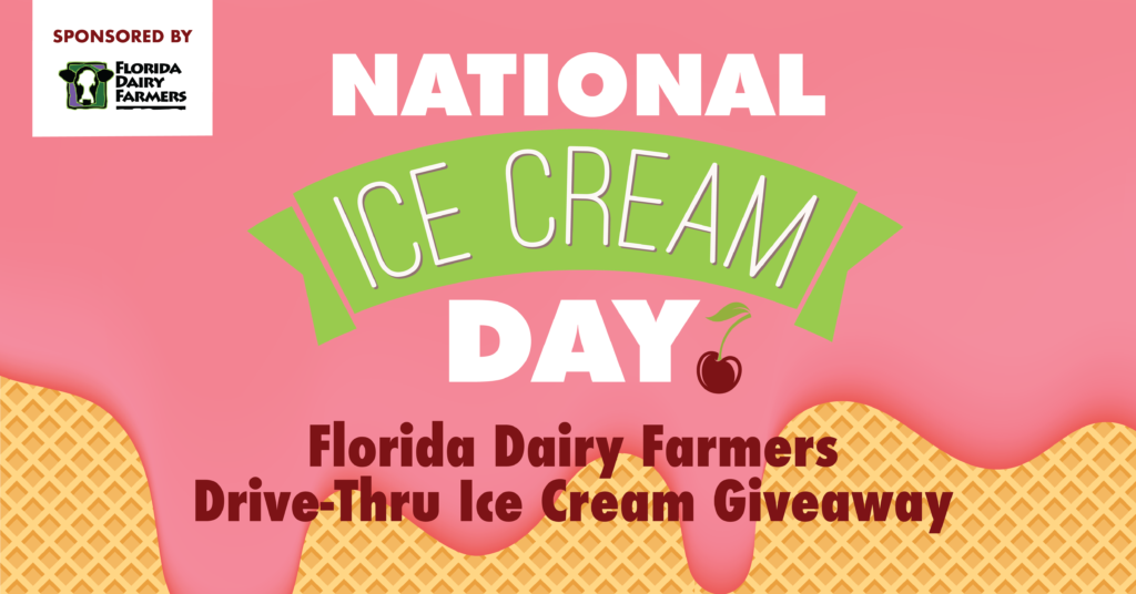 JULY 19: CELEBRATE NATIONAL ICE CREAM DAY AT MIAMI CHILDREN'S MUSEUM WITH A DRIVE-THRU ICE CREAM GIVEAWAY