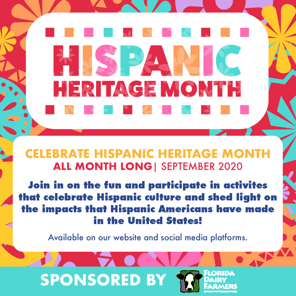 SEPTEMBER 2020: MIAMI CHILDREN'S MUSEUM CELEBRATES HISPANIC HERITAGE MONTH WITH A MONTH-LONG VIRTUAL PARTY