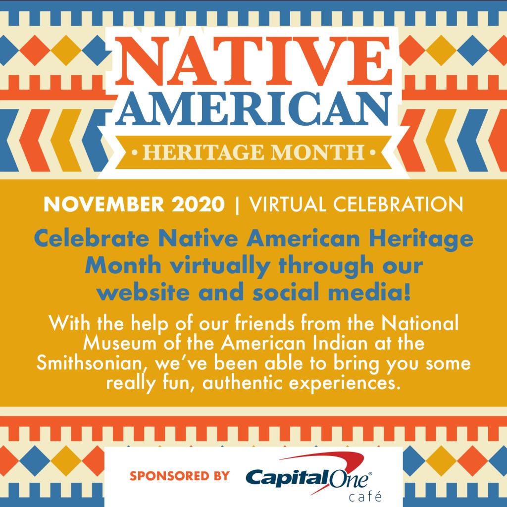 NOVEMBER 2020: MIAMI CHILDREN'S MUSEUM CELEBRATES NATIVE AMERICAN HERITAGE MONTH VIRTUALLY