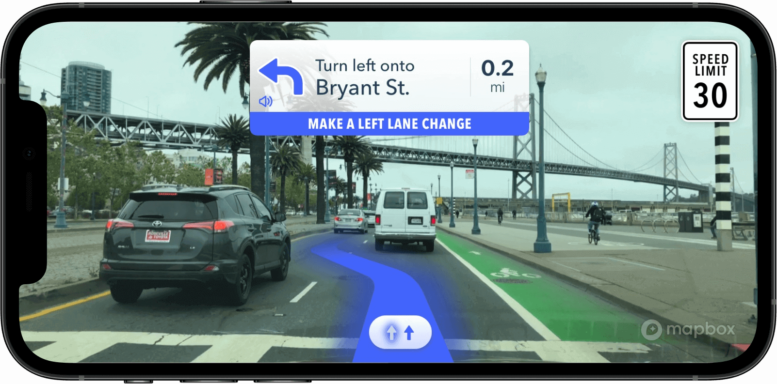 Mapbox vision builds AR navigation right in a phone.