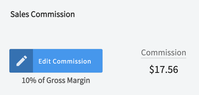 sales commission tracking