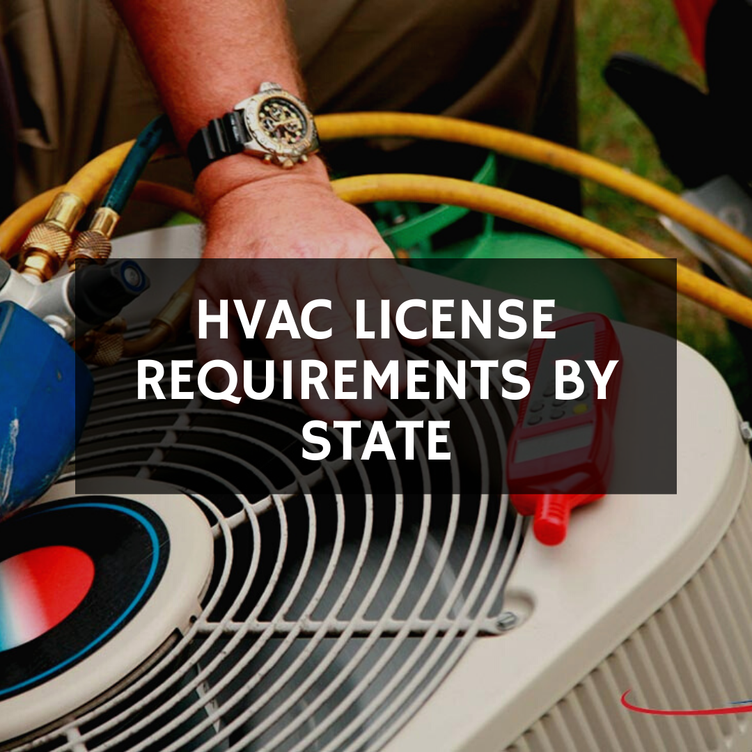 HVAC license requirements by state
