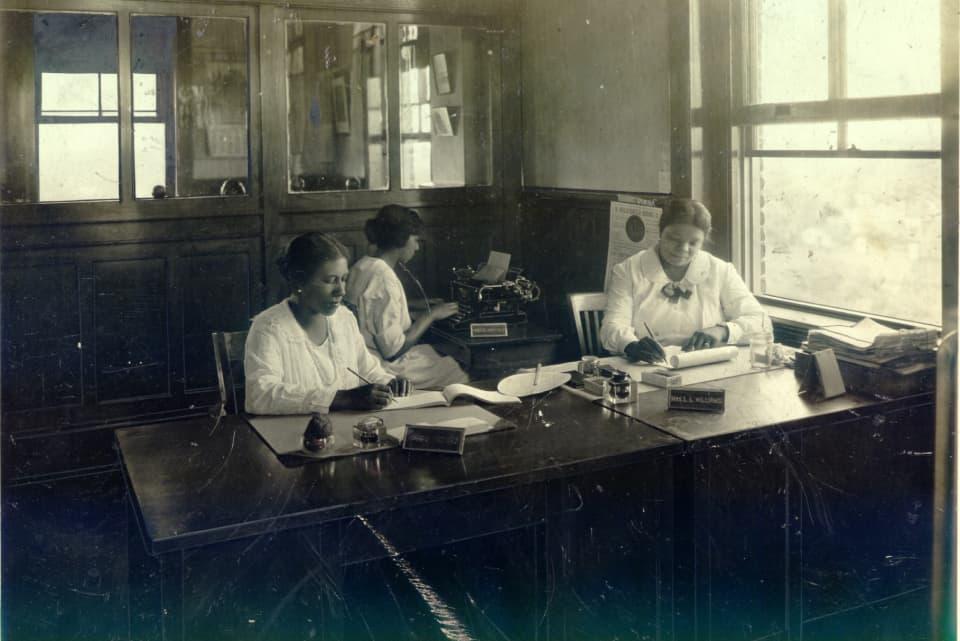 IOSL staff in the St. Luke office.