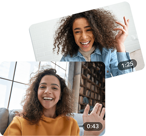 Hero image: Send a graduation video message from Tribute
