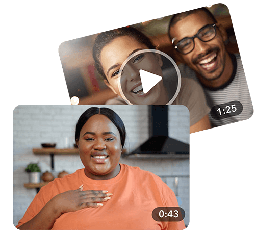 Hero image: Give a thank you video message from Tribute