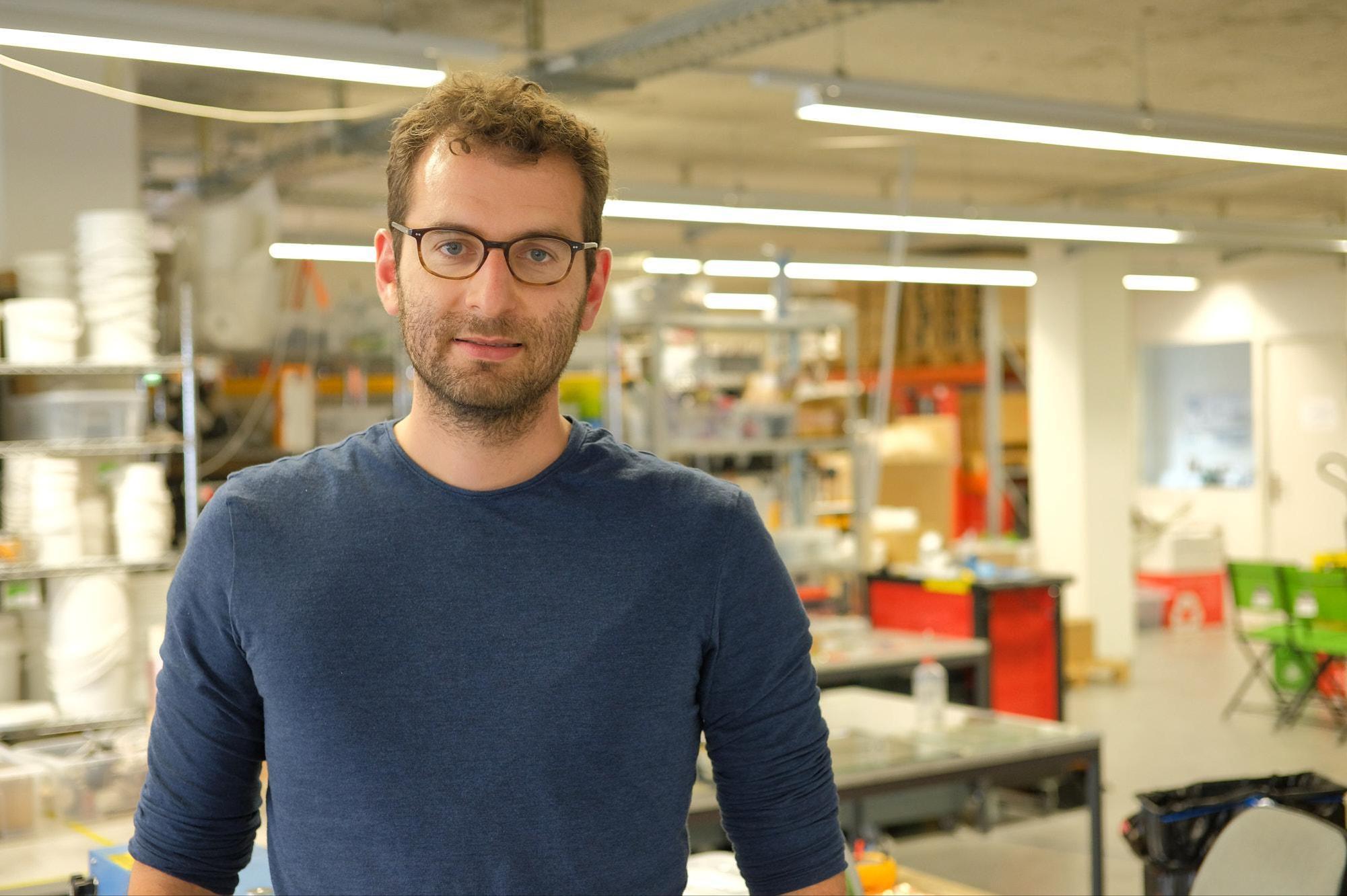 Max Kory, Mitgründer und COO von Battrion. Jan Graber
