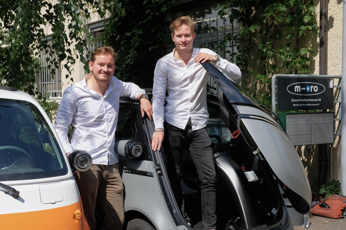 Mit dem Kleinen das Grosse erreichen: Oliver (links) und Merlin Ouboter. Jan Graber