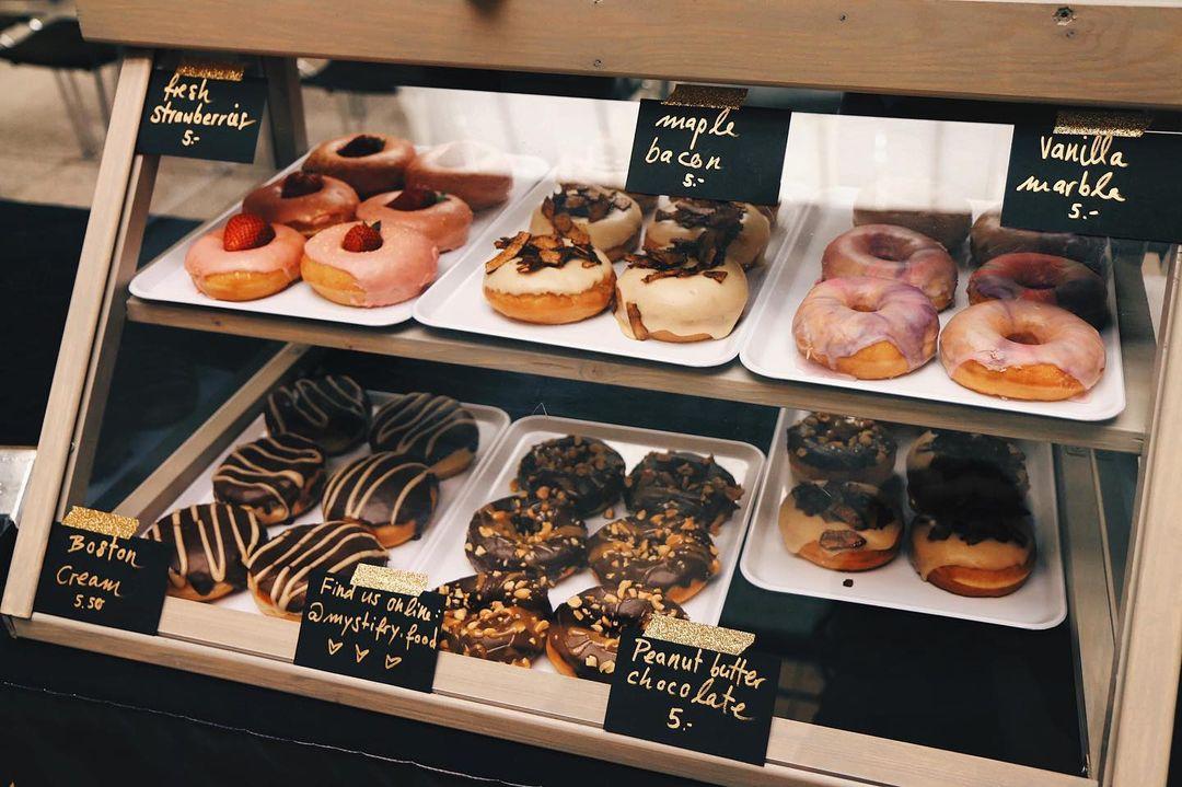 … dem ersten veganen Donut-Laden der Schweiz.