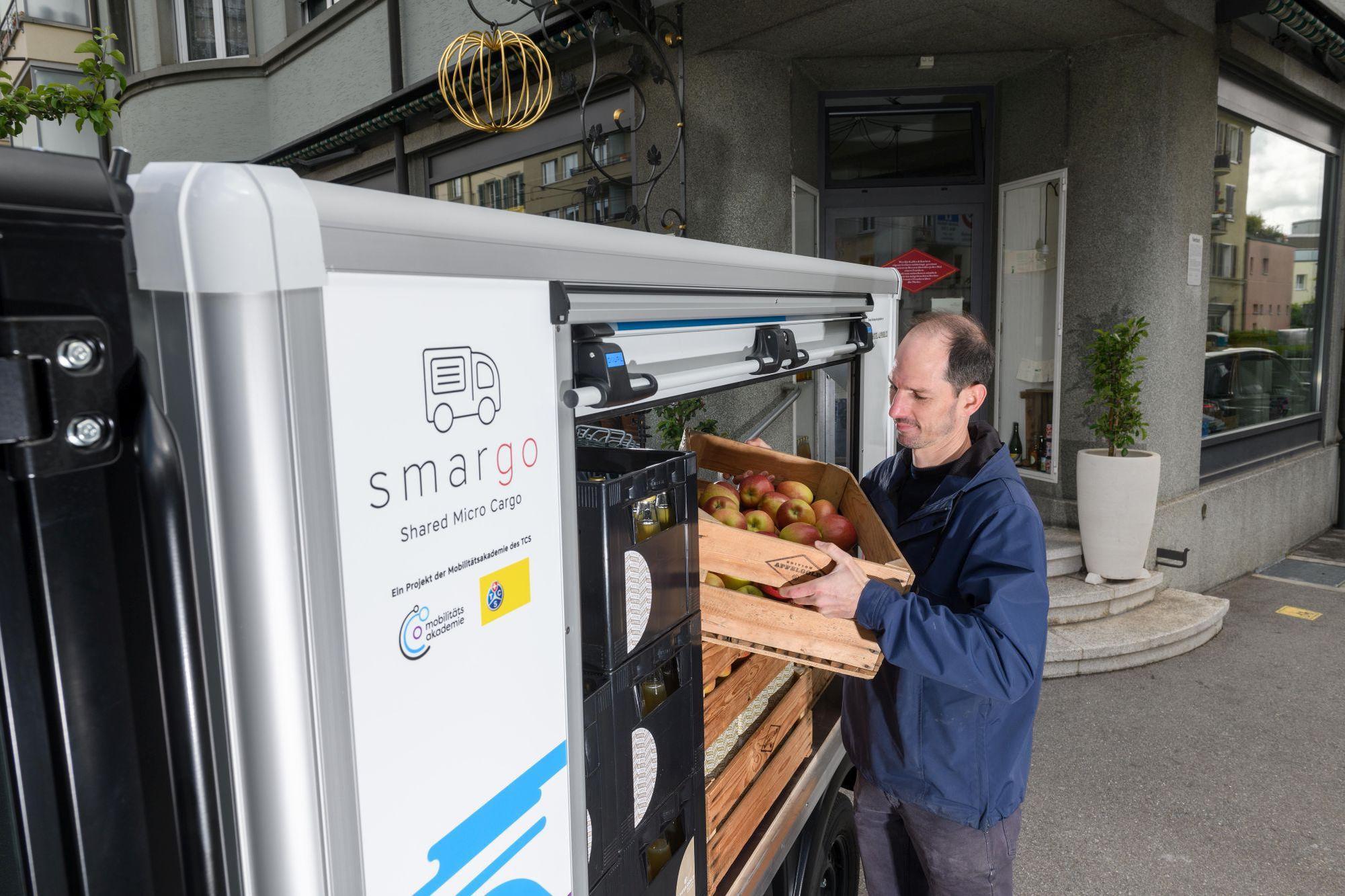 Die Fahrzeuge werden nicht nur von Privaten, sondern auch von Gewerbetreibenden regelmässig genutzt. Smargo