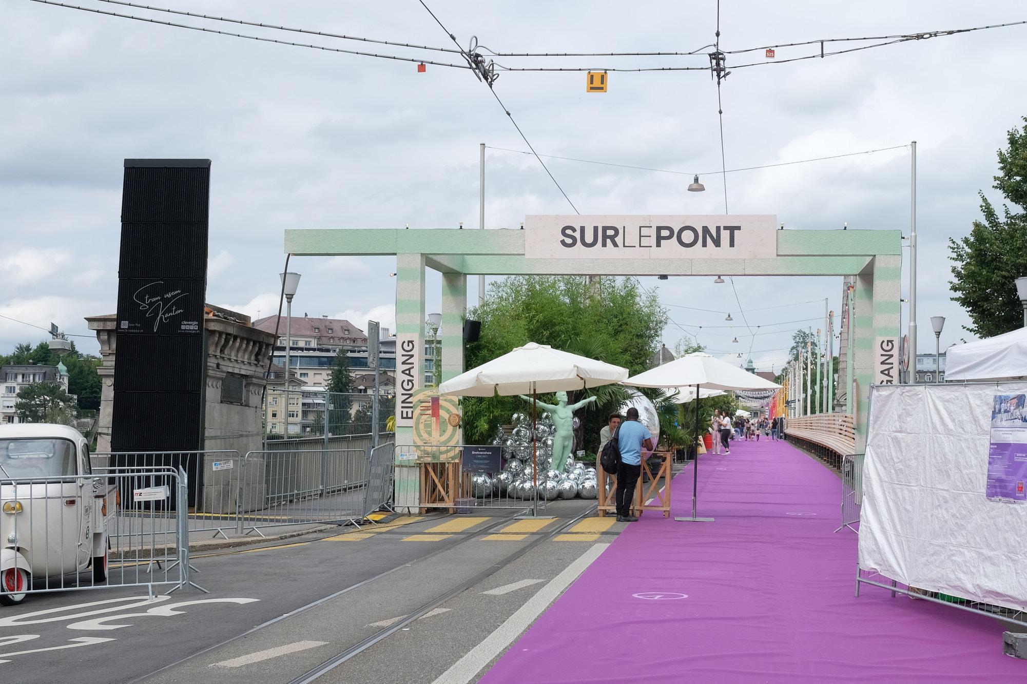 Le festival bernois «Sur le Pont» aura duré six semaines. Photo: jag