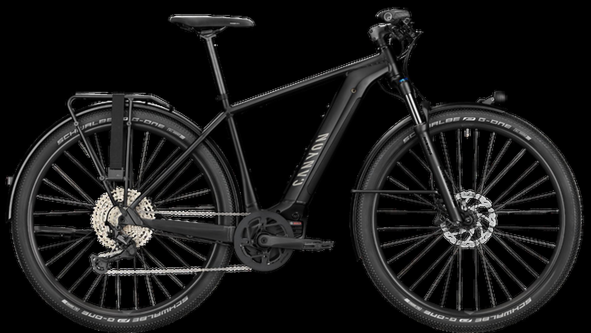City-E-Bikes sind für flaches Gelände sowie für befestigte Strassen gedacht – und für das sind sie auch genügend ausgerüstet. Canyon