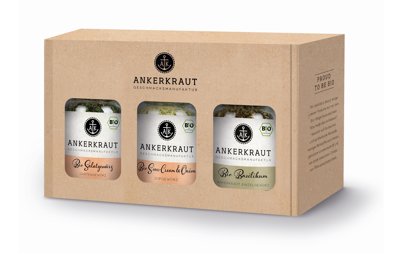 Zusätzlich gibt es noch Biogewürze von Ankerkraut im Wert von 30 Franken zu gewinnen.