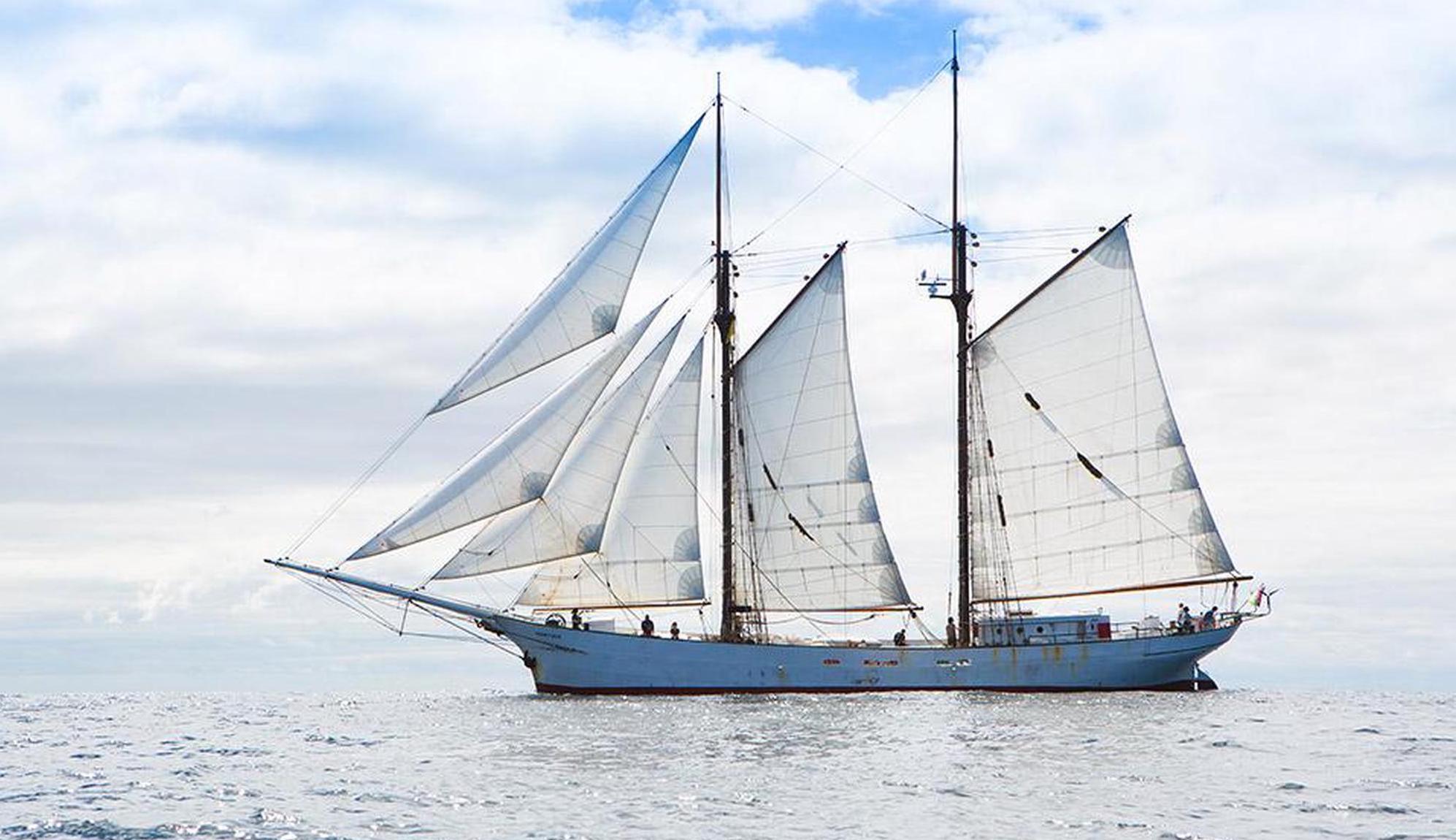 Die «Avontuur» galt als letzter Frachtsegler, bevor sie zu einer Touristenattraktion wurde. Heute verschifft sie wieder Waren. Timbercoast