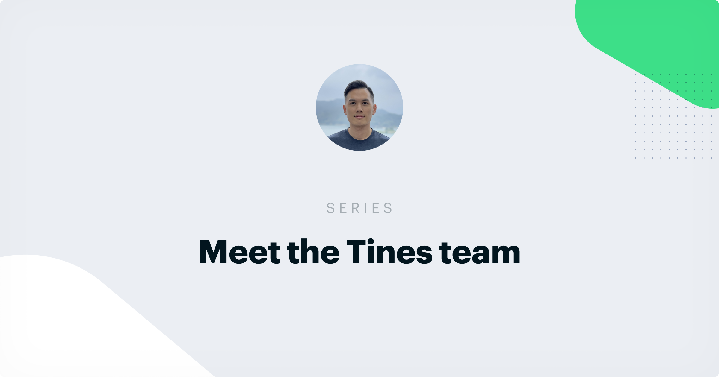 What it's like to be a Sales Engineer at Tines: An Interview with Thomas Wang