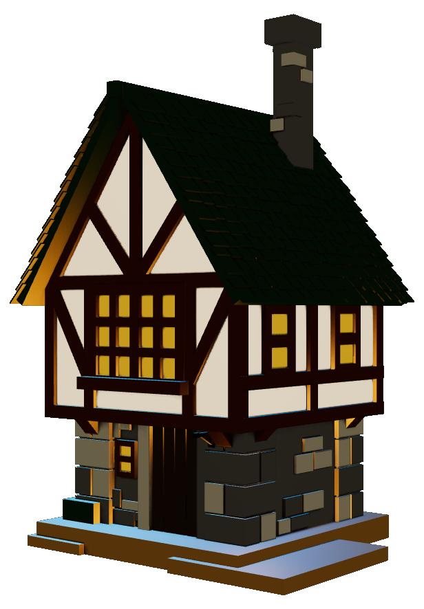 Mirandus House 3D Model