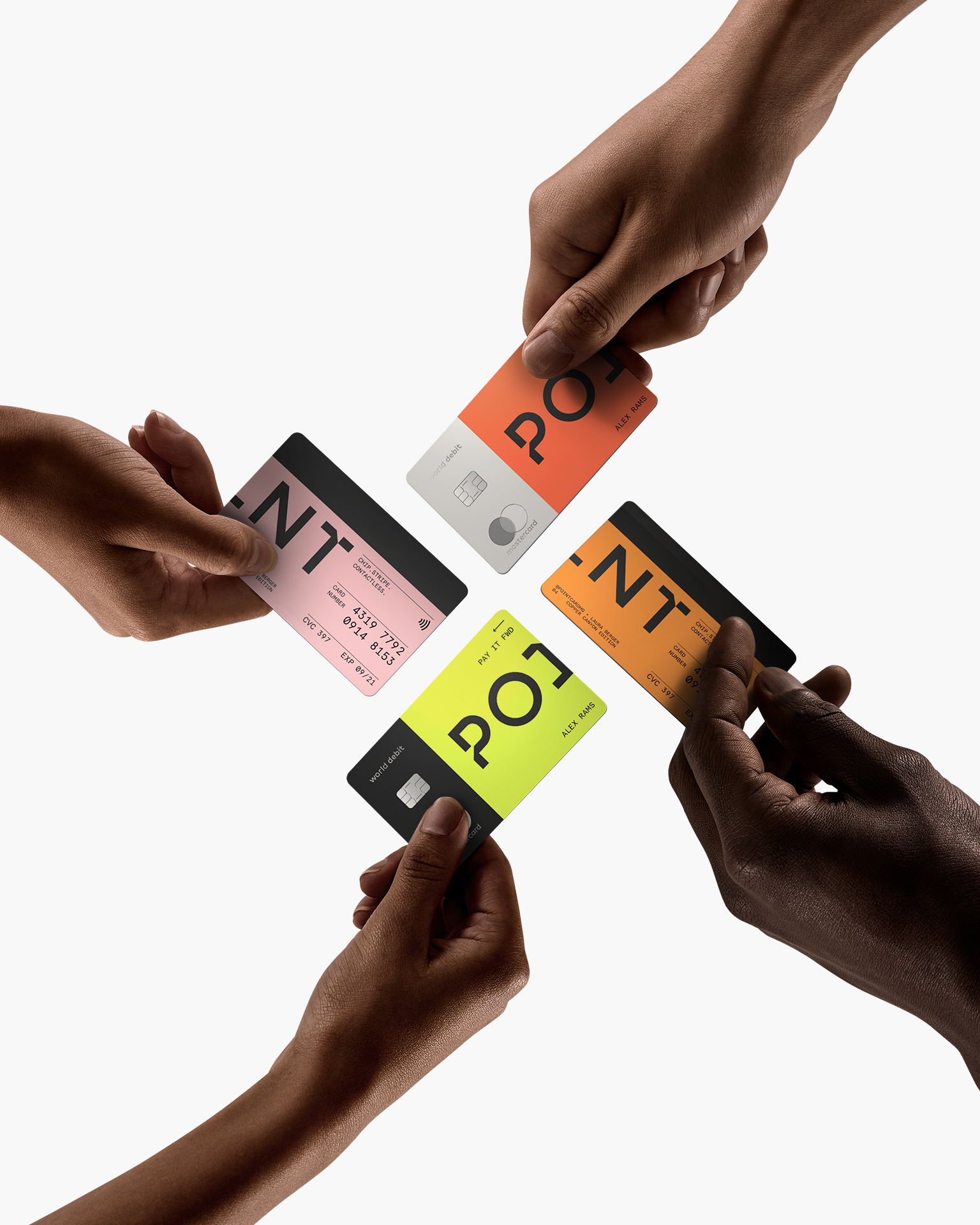 Made to Spend — Point Card