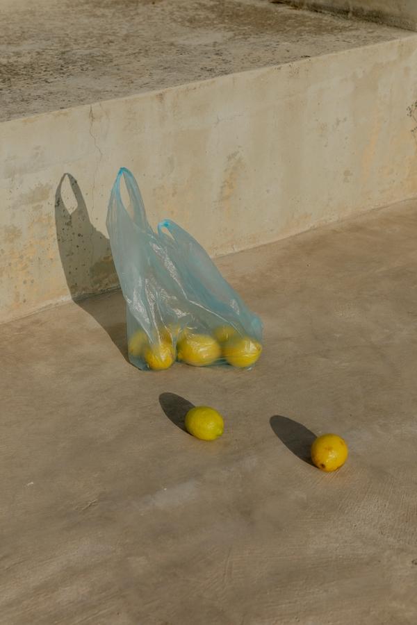 oranges on the ground