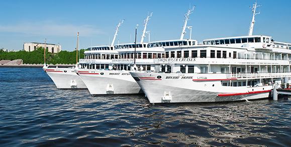 Viking Ships In Russia
