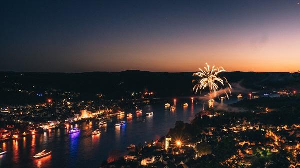 Rhine In Flames