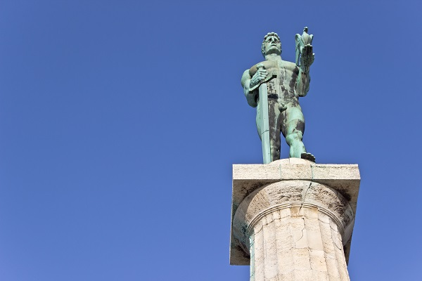 Victor Statue Belgrade