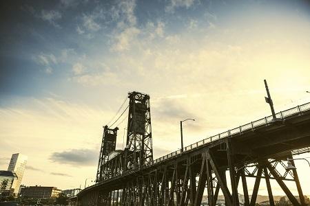 Steel Bridge Portland