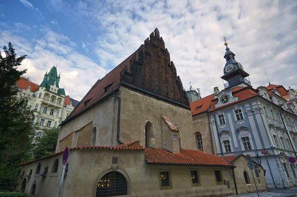 Synagogue In Prague