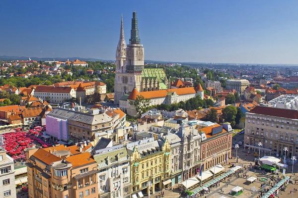 Zagreb Cityscape