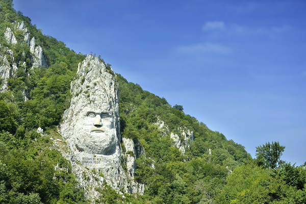 Rock Sculpture Decebalus