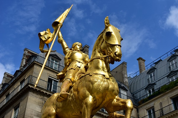 Joan of Arc Statue Paris