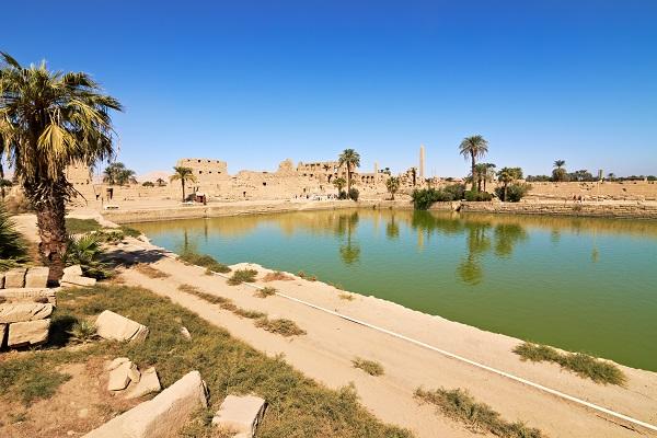 Sacred Lake Temple of Karnak