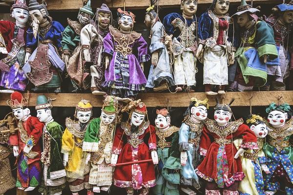 Marionettes In Myanmar