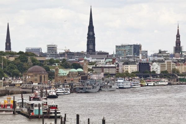 Elbe at Hamburg